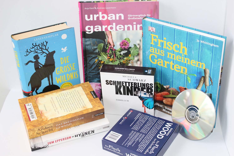 Bücher für die Büchertauschbörse Wertstoffhof Herne
