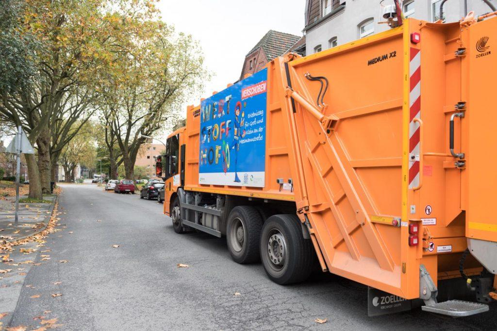 Müllwagen entsorgung herne