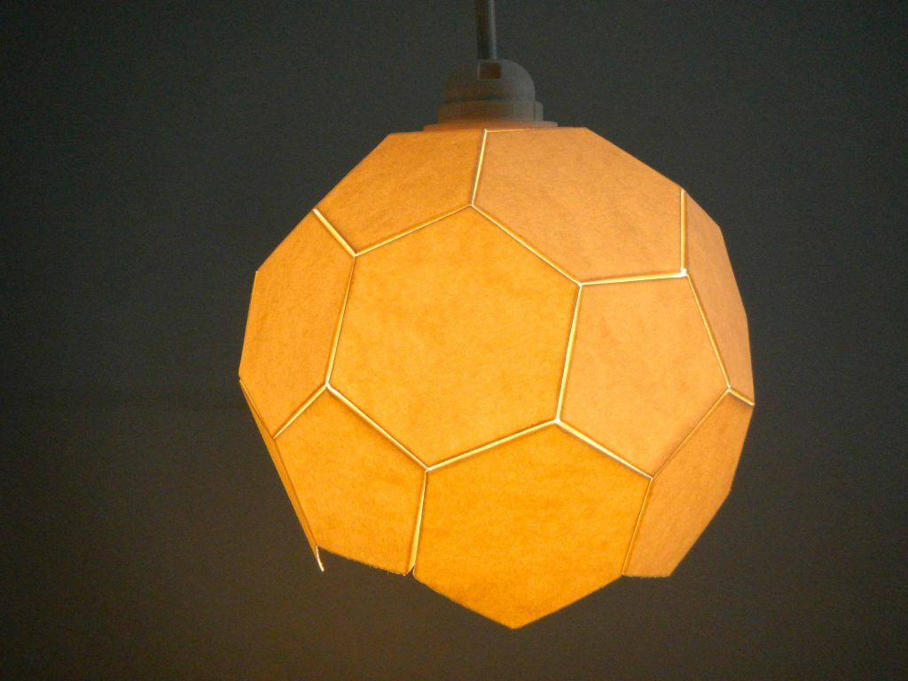 Fußball-Lampe Upcycling Workshop